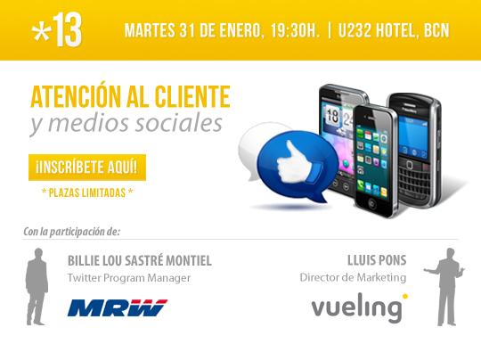 #SMP 13, Atención al cliente y medios sociales